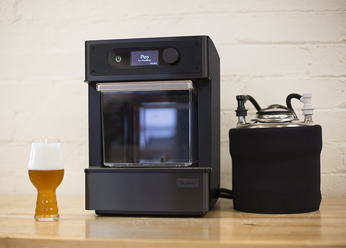 pico une machine pour brasser sa bi re la maison. Black Bedroom Furniture Sets. Home Design Ideas